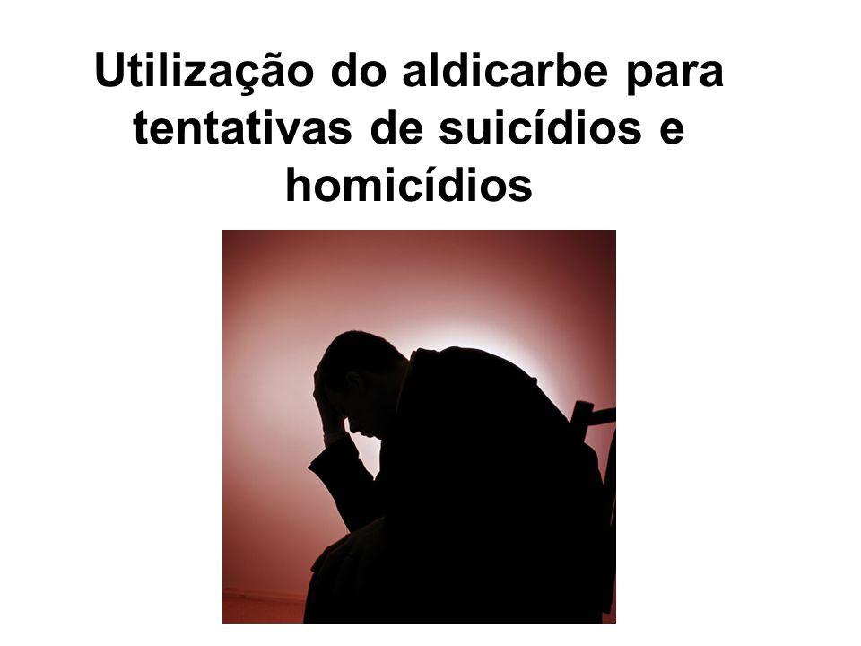 Utilização do aldicarbe para tentativas de suicídios e homicídios