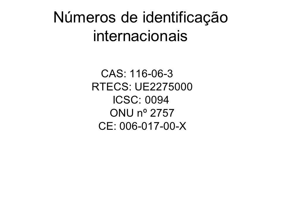 Números de identificação internacionais