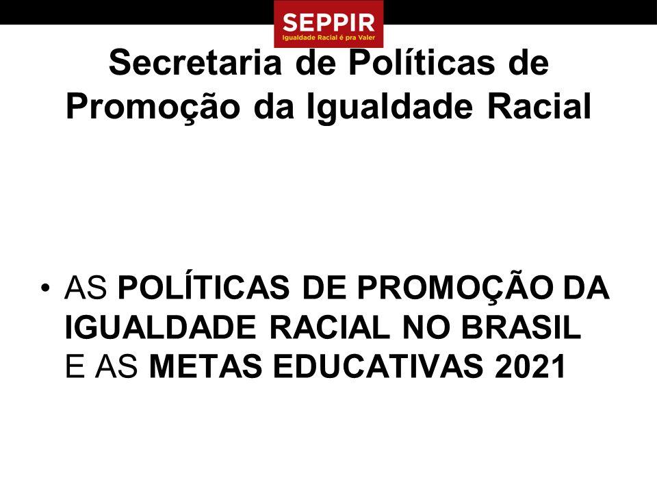 Secretaria de Políticas de Promoção da Igualdade Racial