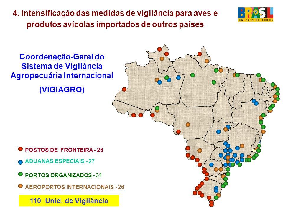 Coordenação-Geral do Sistema de Vigilância Agropecuária Internacional