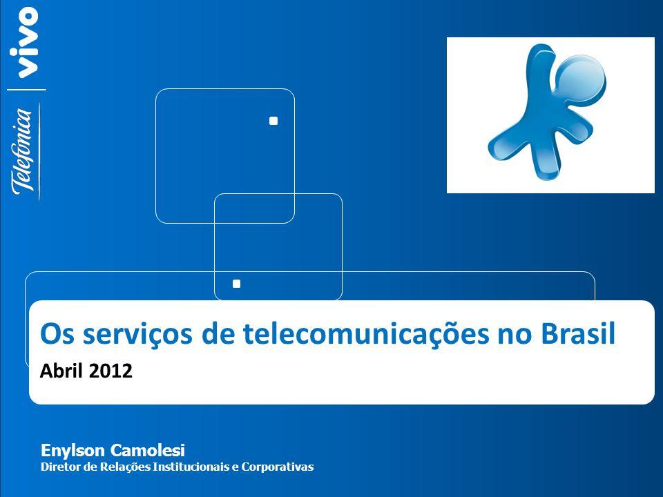 Os serviços de telecomunicações no Brasil