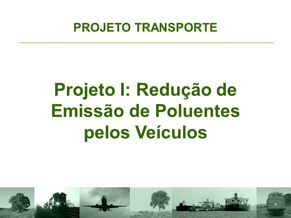 Projeto I: Redução de Emissão de Poluentes pelos Veículos