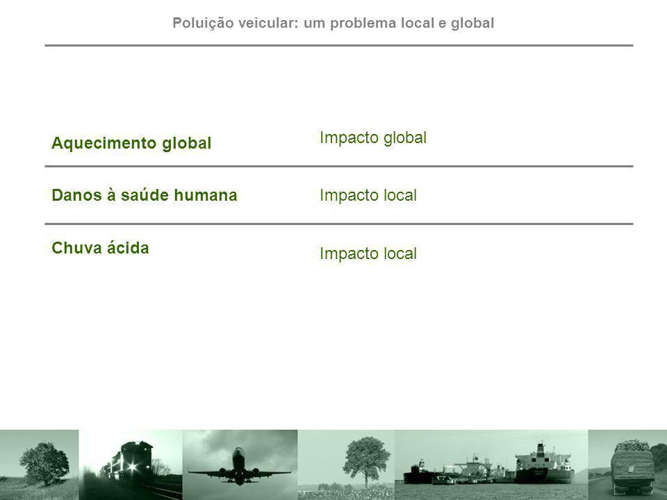 Poluição veicular: um problema local e global