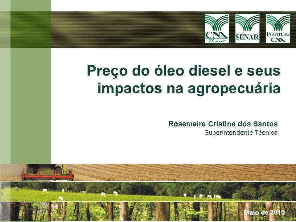 Preço do óleo diesel e seus impactos na agropecuária