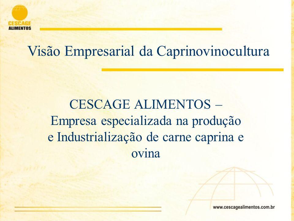 Visão Empresarial da Caprinovinocultura