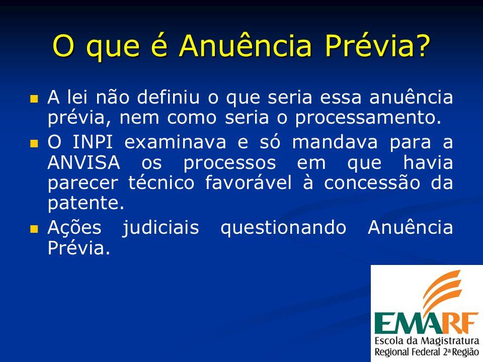 O que é Anuência Prévia A lei não definiu o que seria essa anuência prévia, nem como seria o processamento.