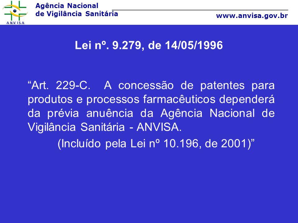 Lei nº. 9.279, de 14/05/1996
