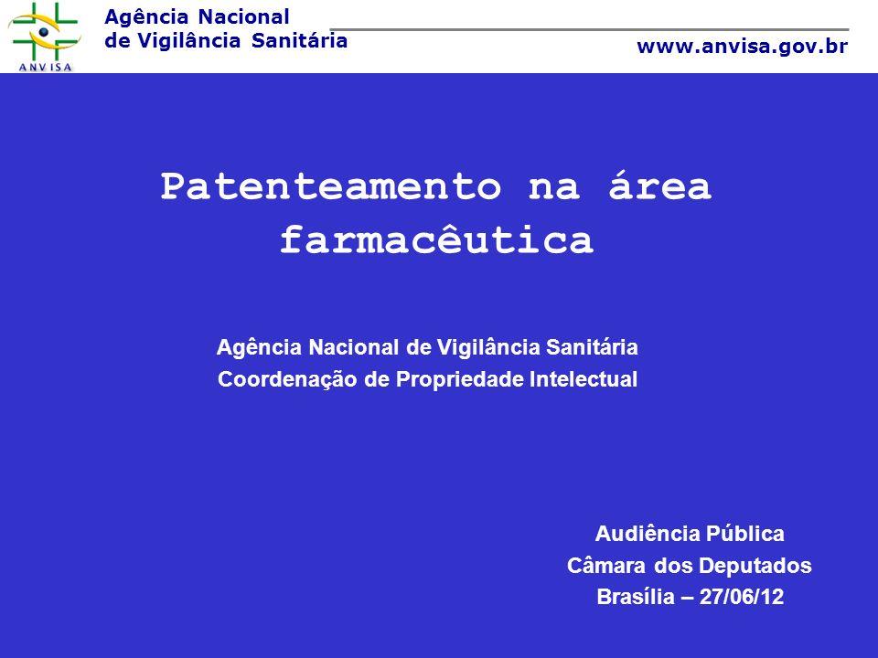 Patenteamento na área farmacêutica