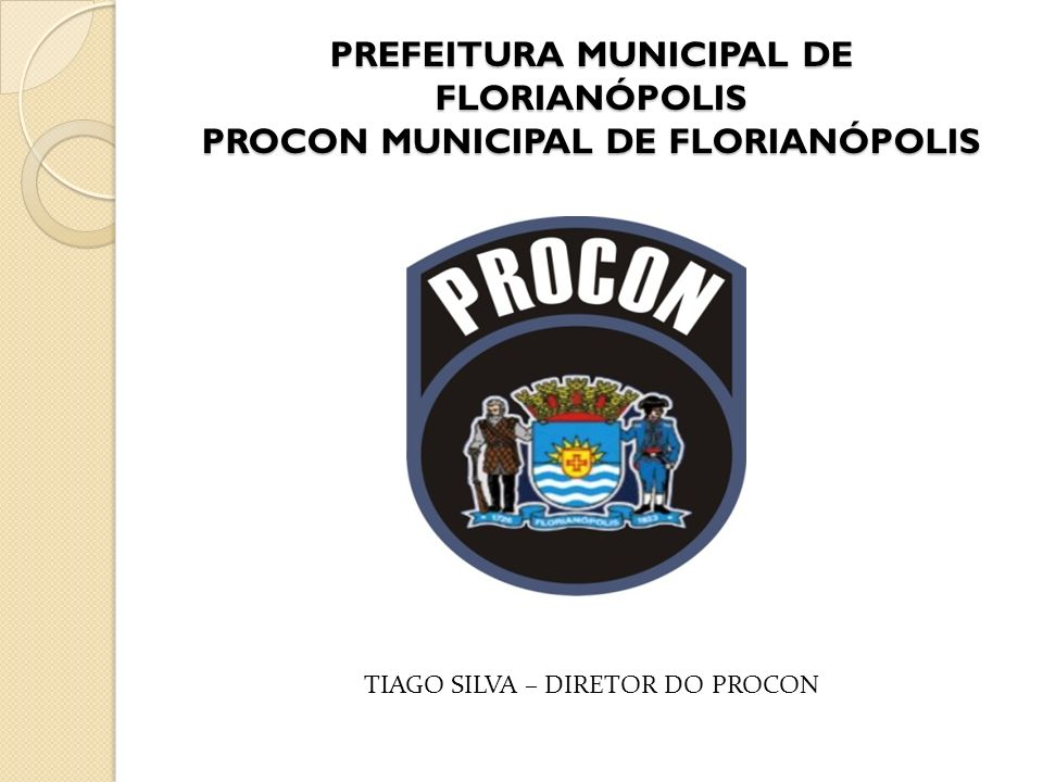 TIAGO SILVA – DIRETOR DO PROCON