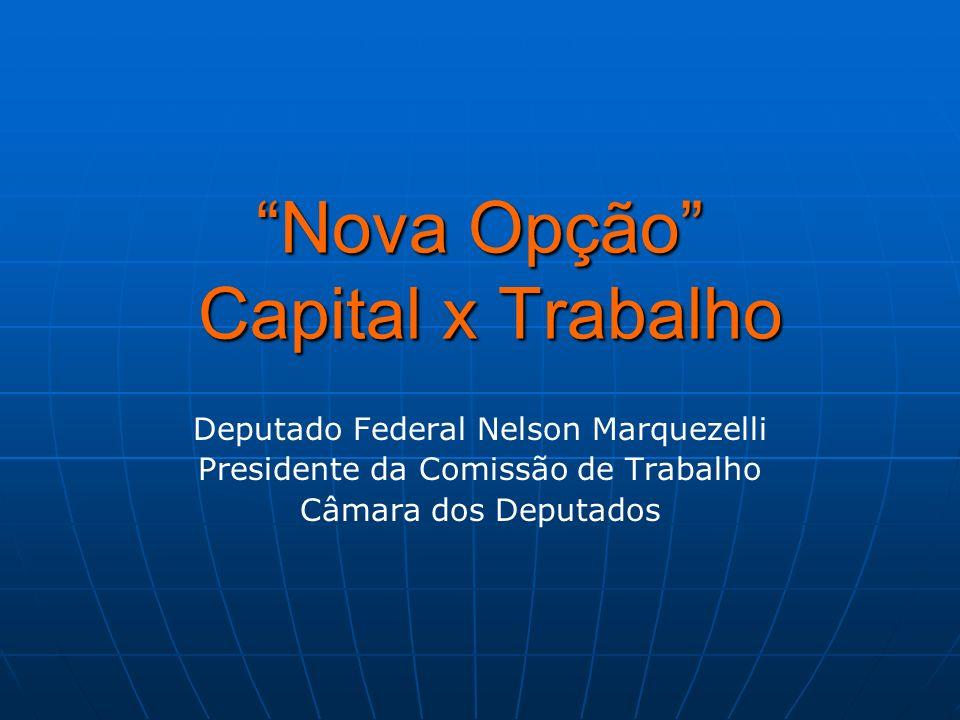 Nova Opção Capital x Trabalho