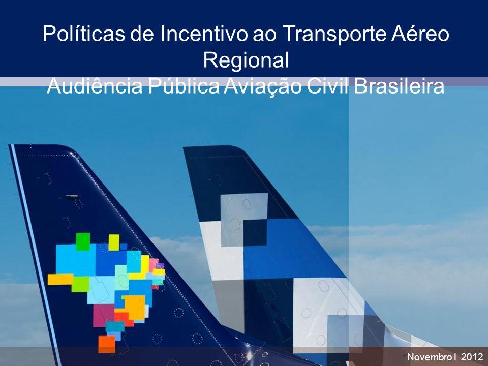 Políticas de Incentivo ao Transporte Aéreo Regional