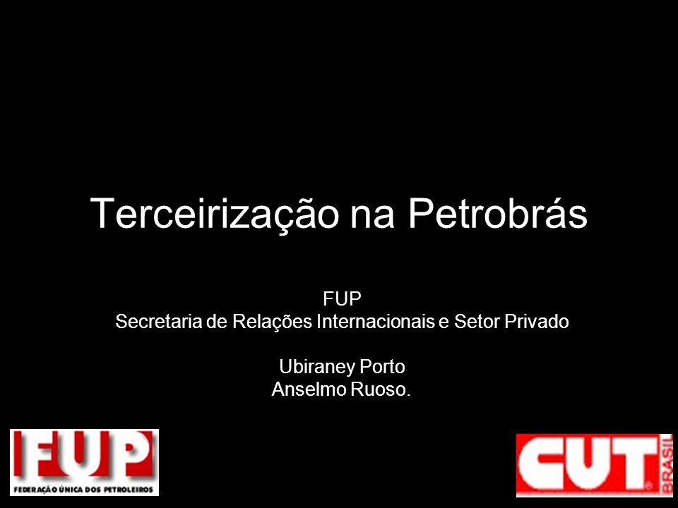 Terceirização na Petrobrás