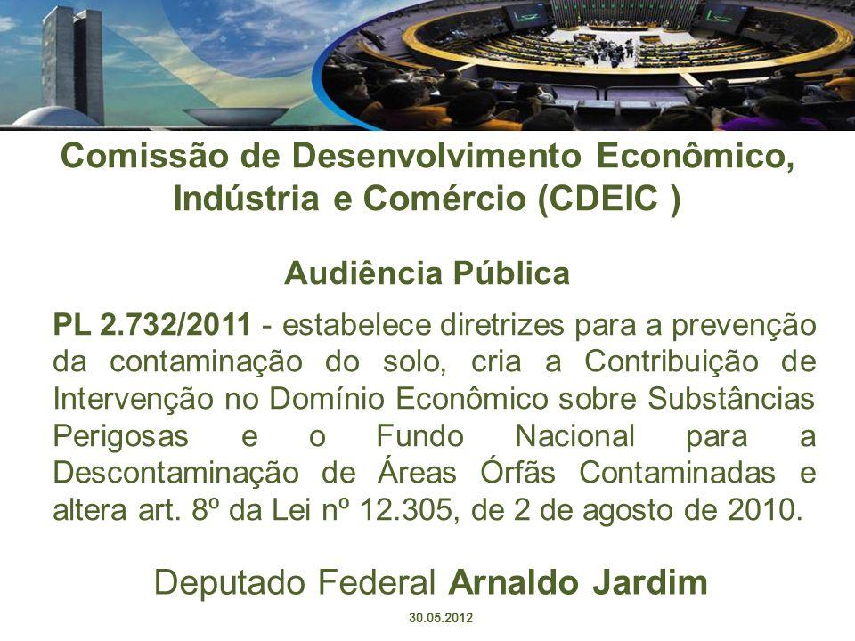 Deputado Federal Arnaldo Jardim