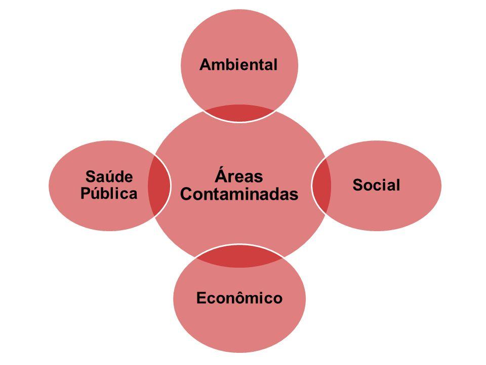 Áreas Contaminadas Ambiental Social Econômico Saúde Pública