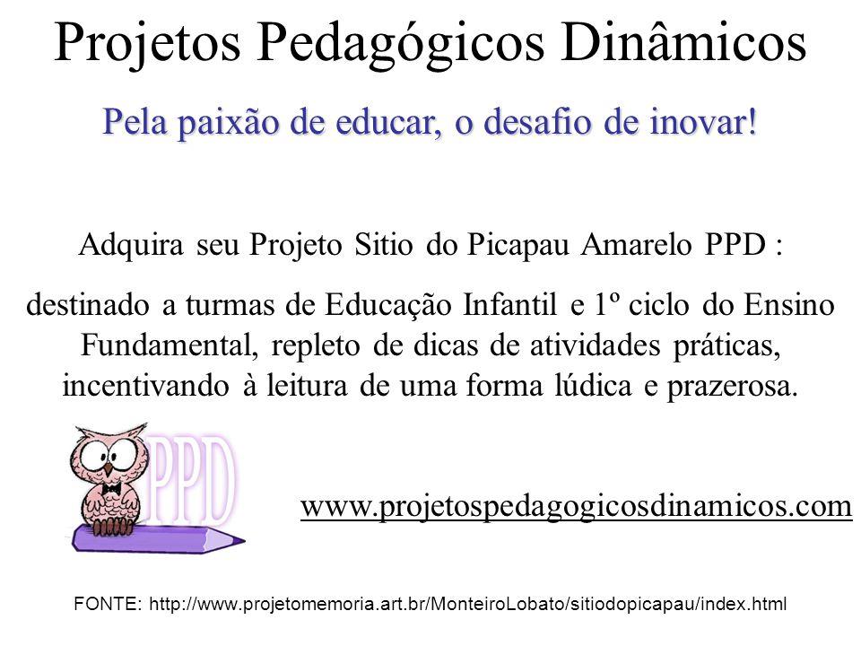 Projetos Pedagógicos Dinâmicos
