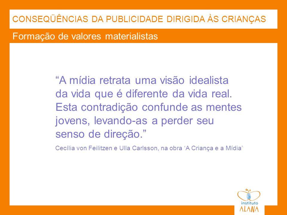 CONSEQÜÊNCIAS DA PUBLICIDADE DIRIGIDA ÀS CRIANÇAS