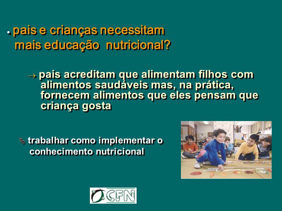 mais educação nutricional