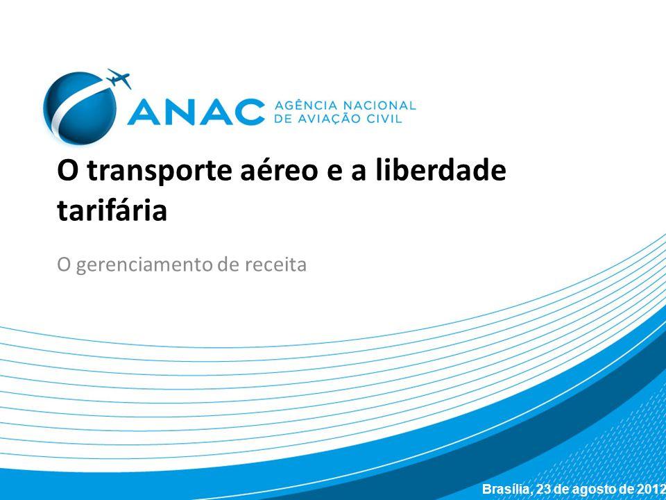 O transporte aéreo e a liberdade tarifária