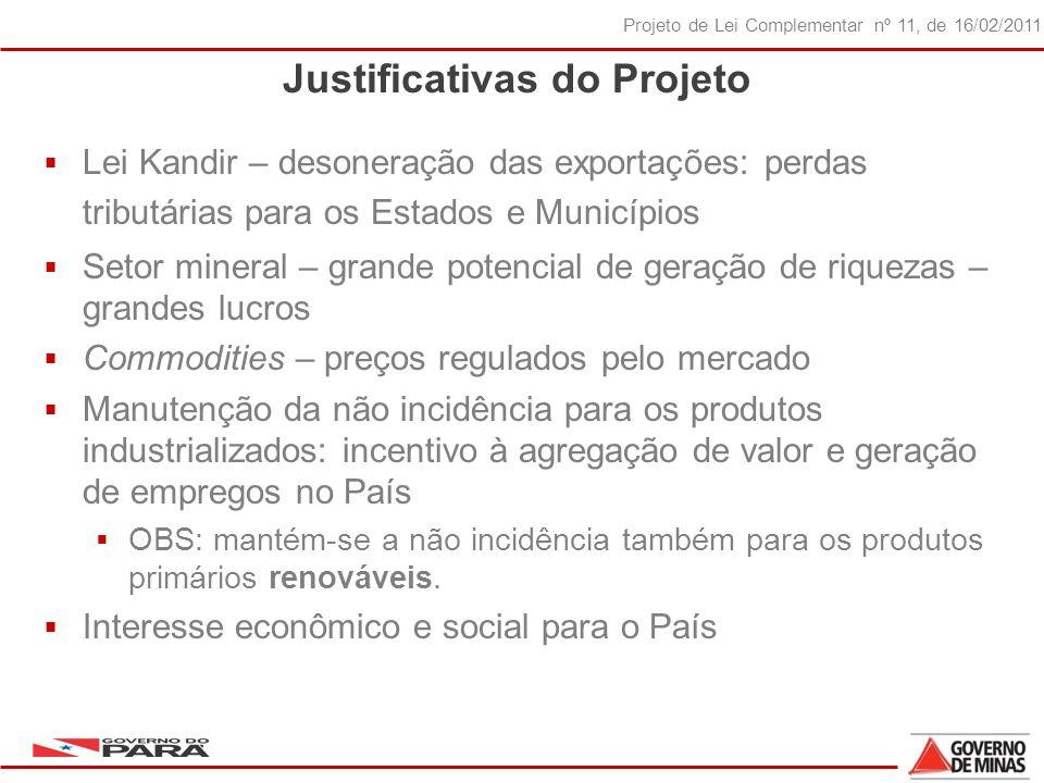 Justificativas do Projeto