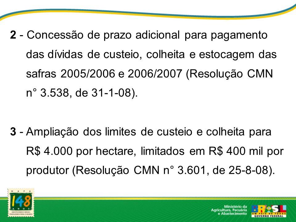 2 - Concessão de prazo adicional para pagamento