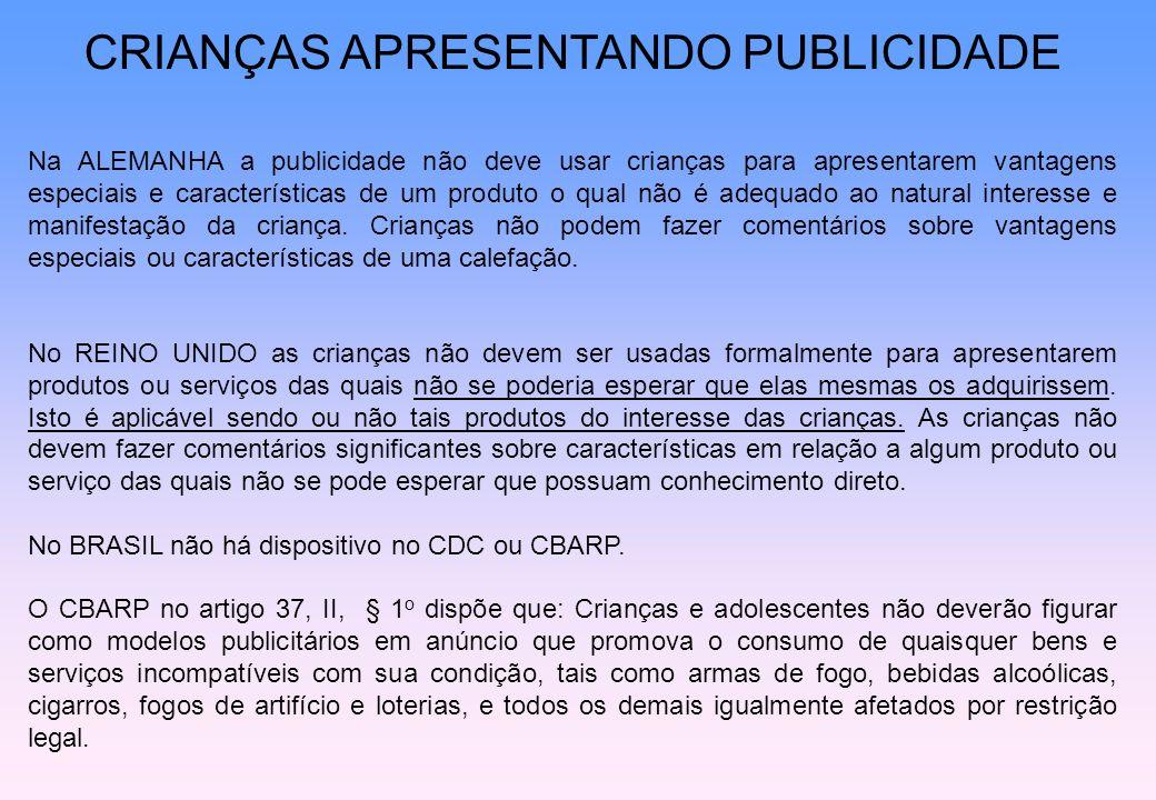 CRIANÇAS APRESENTANDO PUBLICIDADE