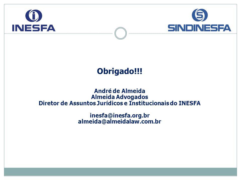 Diretor de Assuntos Jurídicos e Institucionais do INESFA