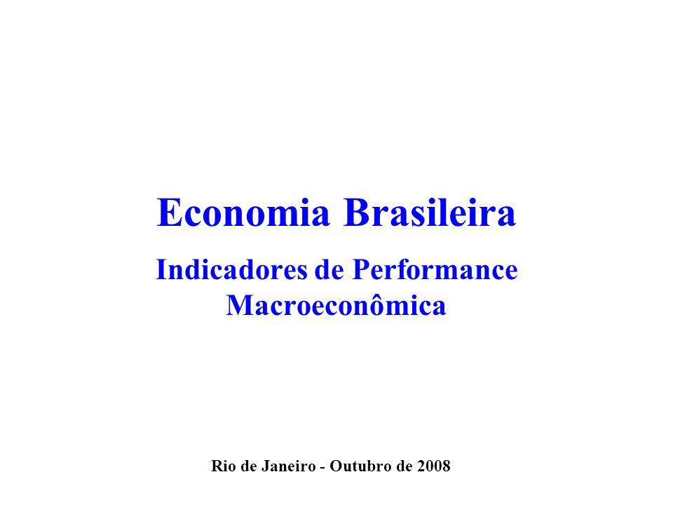 Indicadores de Performance Macroeconômica