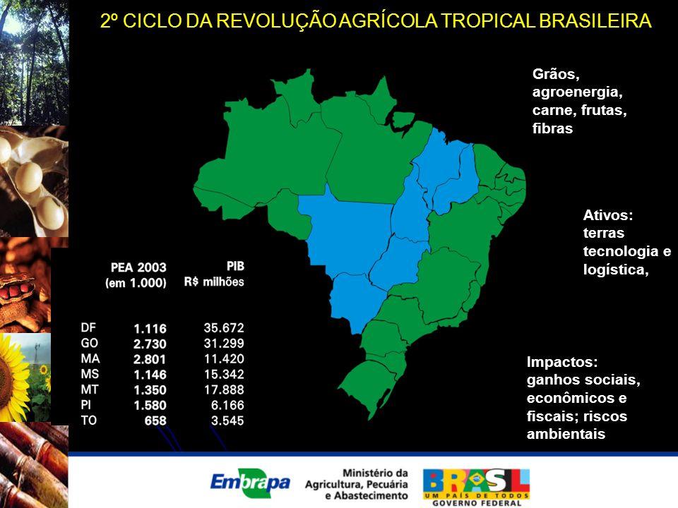 2º CICLO DA REVOLUÇÃO AGRÍCOLA TROPICAL BRASILEIRA