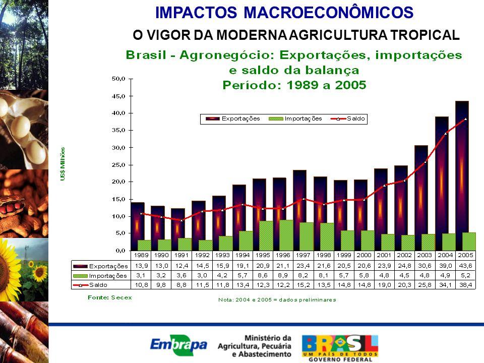 IMPACTOS MACROECONÔMICOS