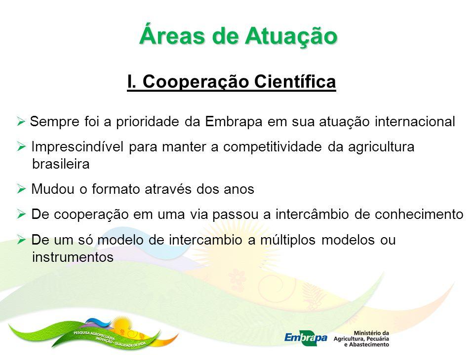 I. Cooperação Científica