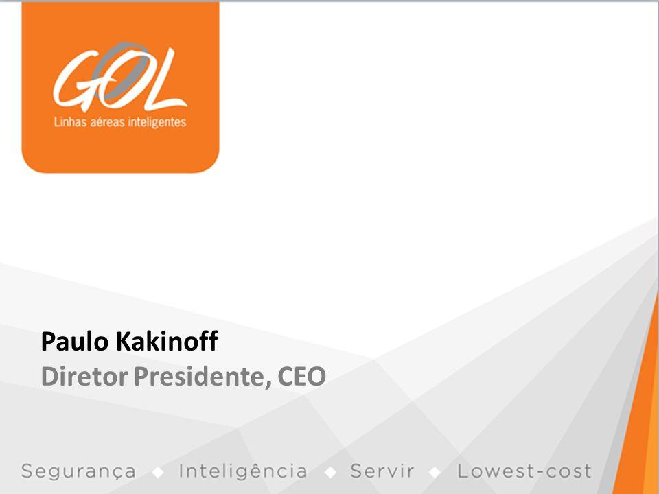 Paulo Kakinoff Diretor Presidente, CEO
