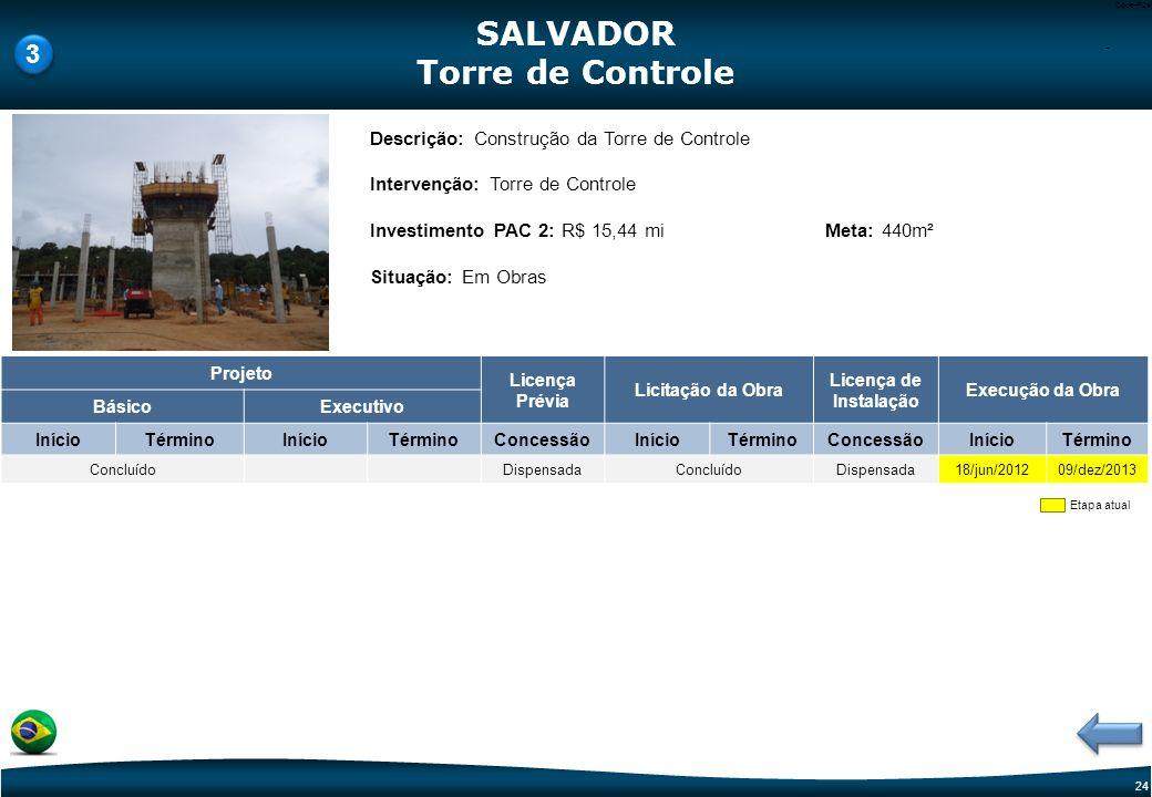 SALVADOR Torre de Controle