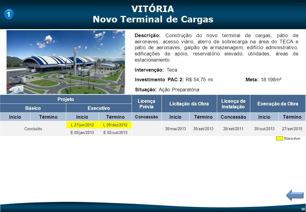 Novo Terminal de Cargas