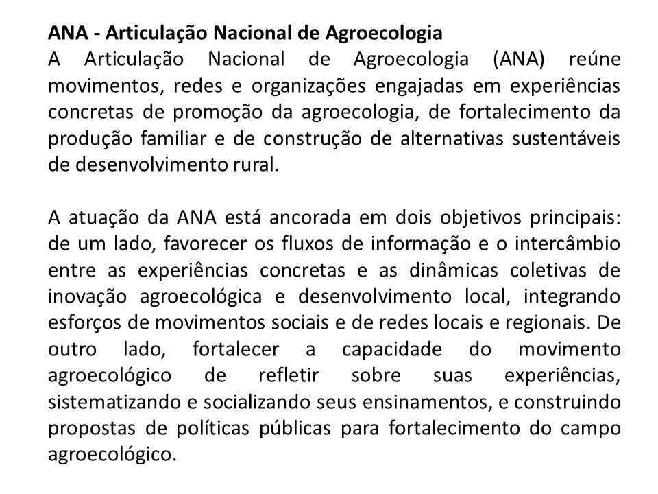 ANA - Articulação Nacional de Agroecologia