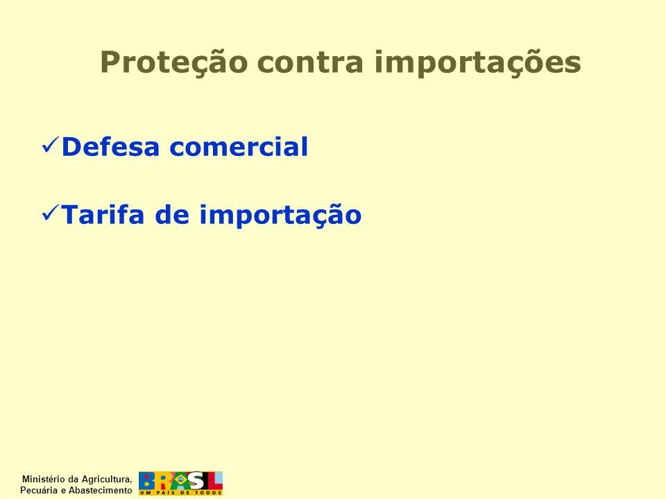 Proteção contra importações