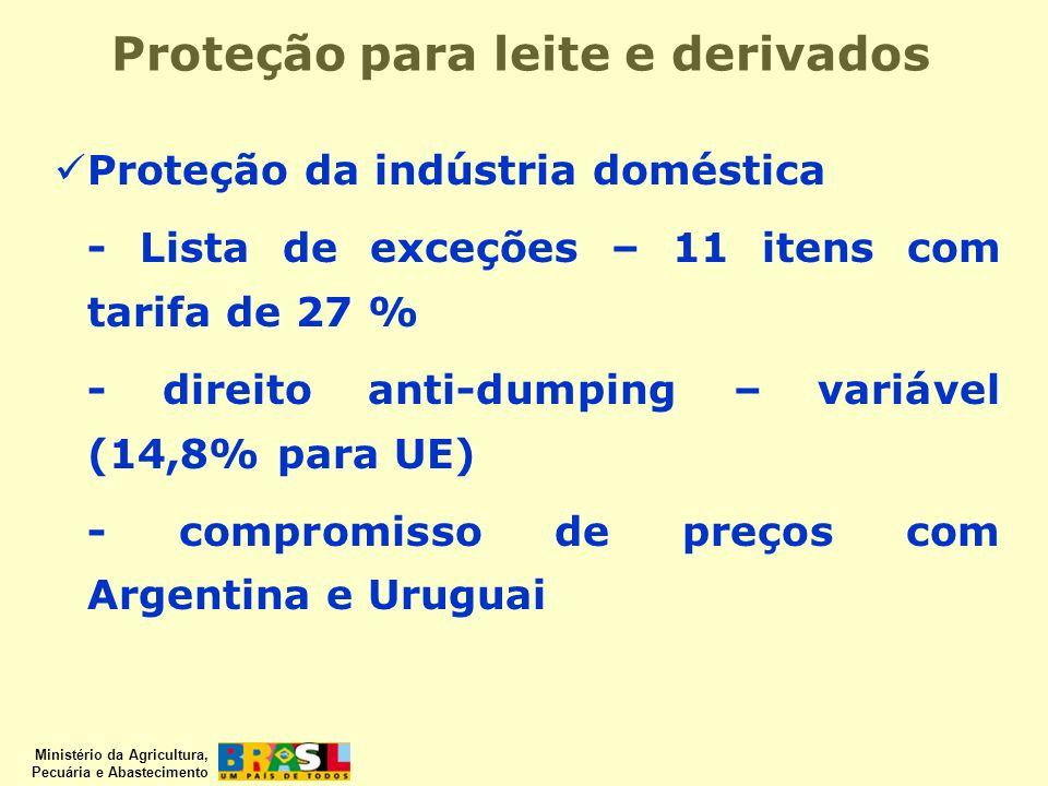 Proteção para leite e derivados