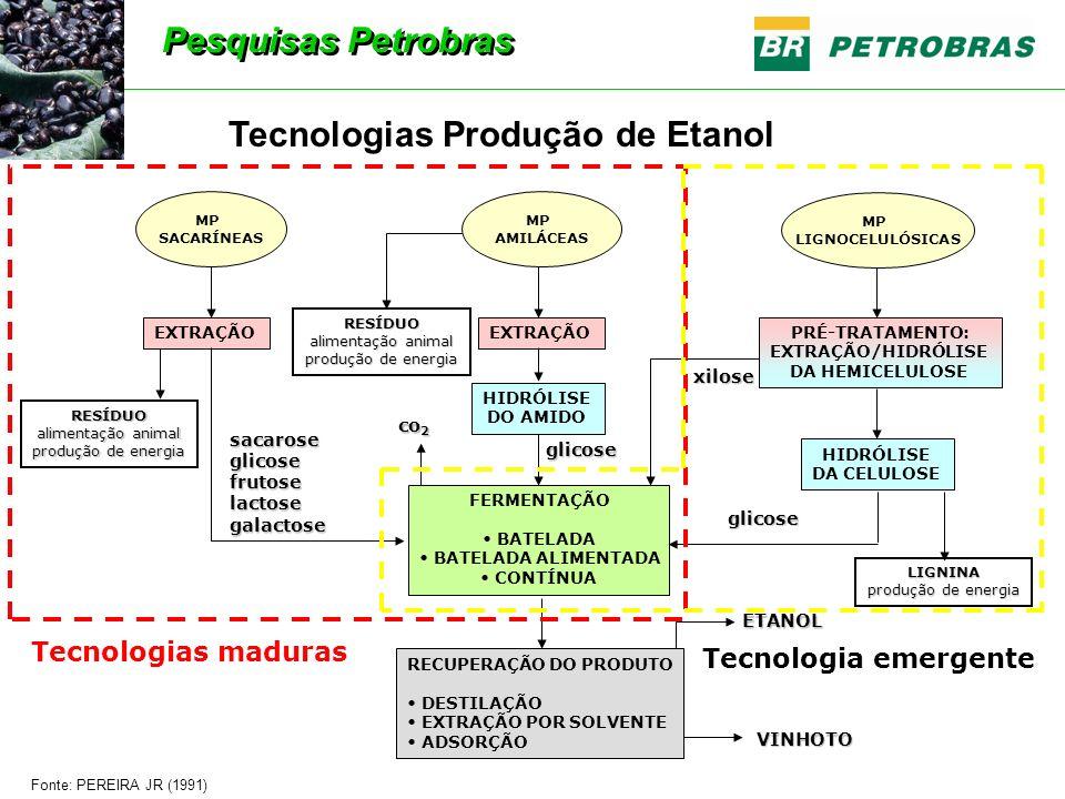 Tecnologias Produção de Etanol