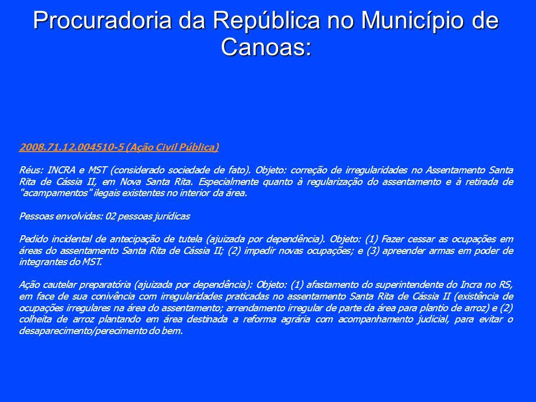 Procuradoria da República no Município de Canoas: