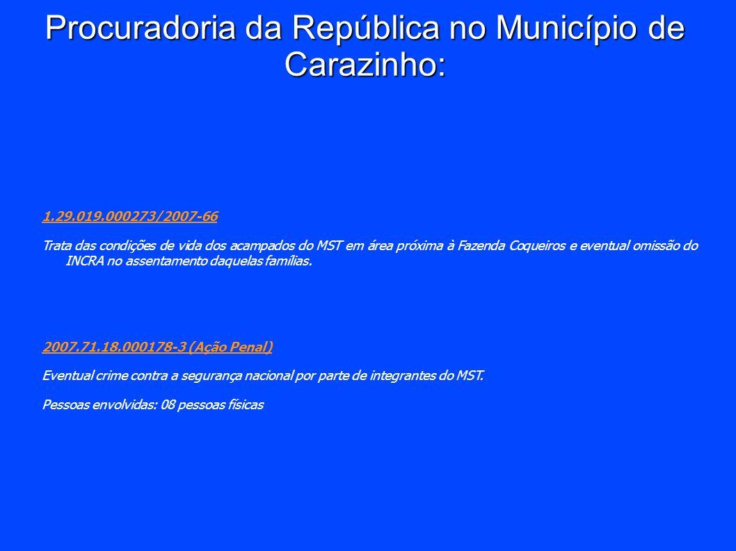 Procuradoria da República no Município de Carazinho: