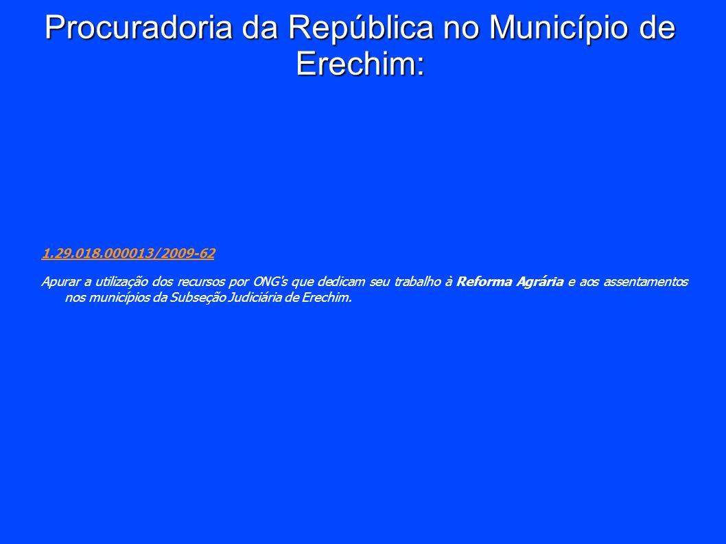 Procuradoria da República no Município de Erechim: