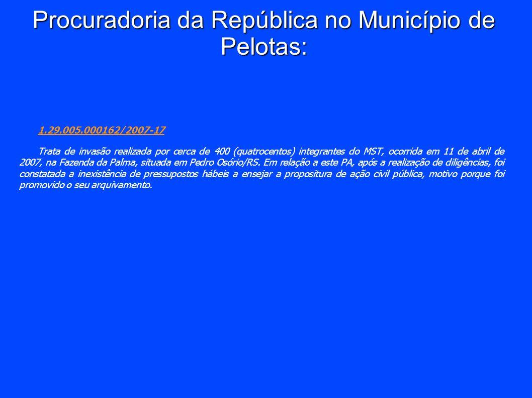 Procuradoria da República no Município de Pelotas: