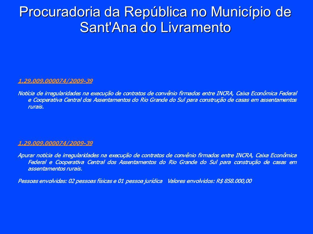Procuradoria da República no Município de Sant Ana do Livramento