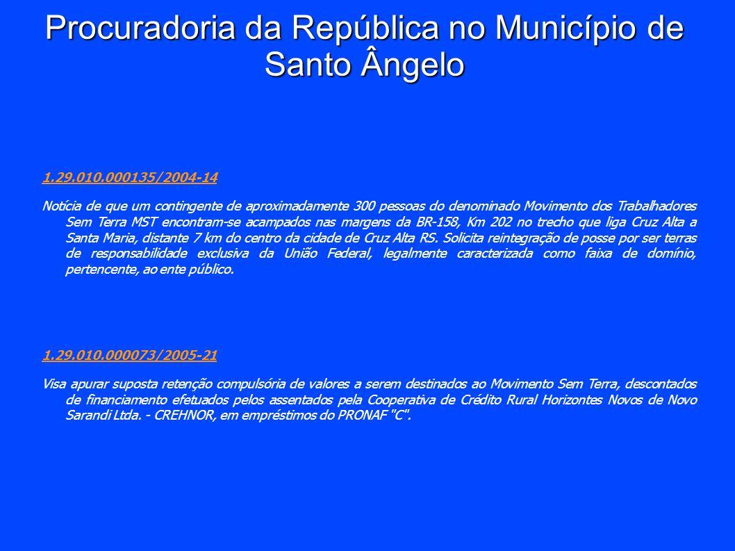 Procuradoria da República no Município de Santo Ângelo