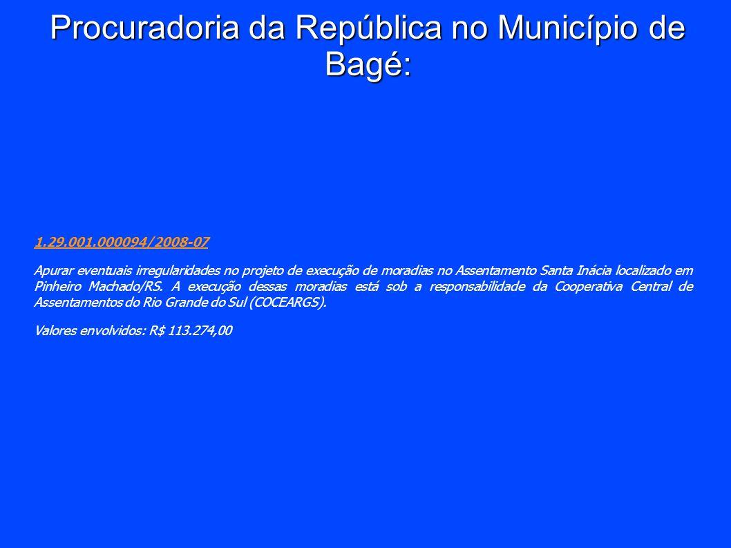 Procuradoria da República no Município de Bagé: