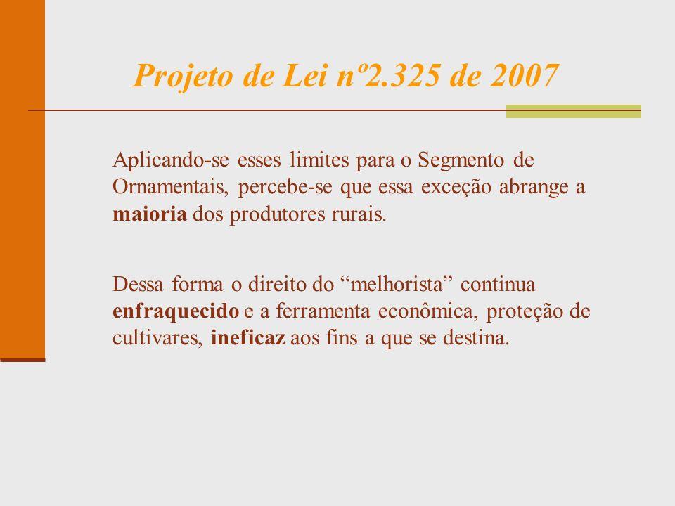 Projeto de Lei nº2.325 de 2007