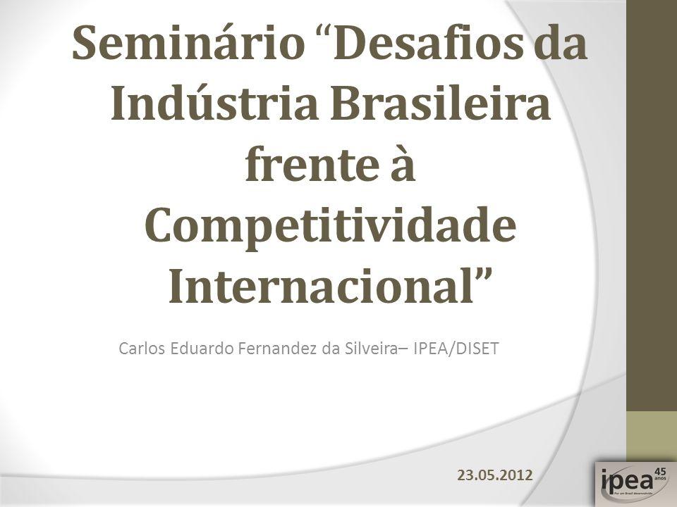 Carlos Eduardo Fernandez da Silveira– IPEA/DISET