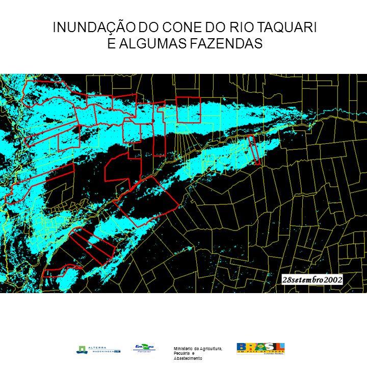 INUNDAÇÃO DO CONE DO RIO TAQUARI