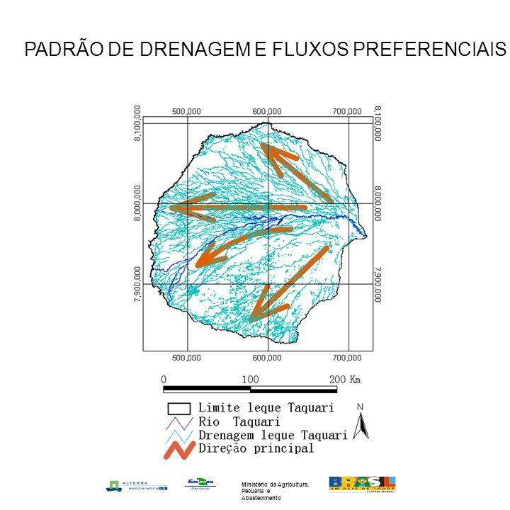 PADRÃO DE DRENAGEM E FLUXOS PREFERENCIAIS