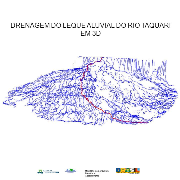 DRENAGEM DO LEQUE ALUVIAL DO RIO TAQUARI