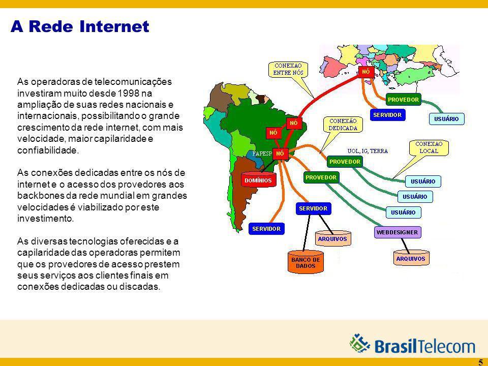 A Rede Internet